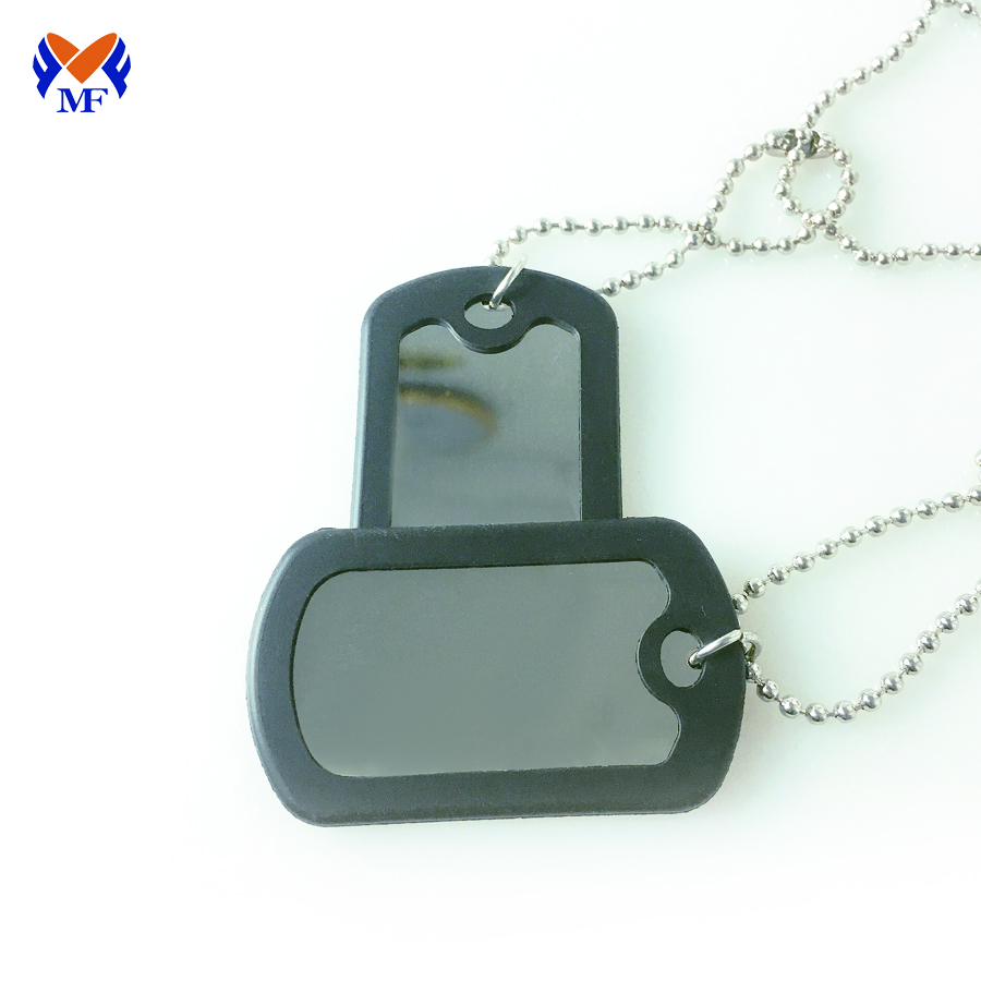 Thick Dog Tag Stainless Steel