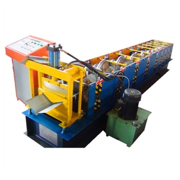 Automatic cap ridge roof sheet roll forming machine
