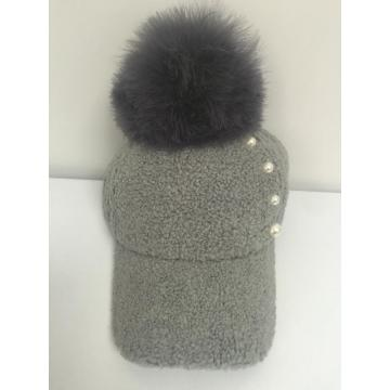 Fashion Autumn Pom-Pom Baseball Cap