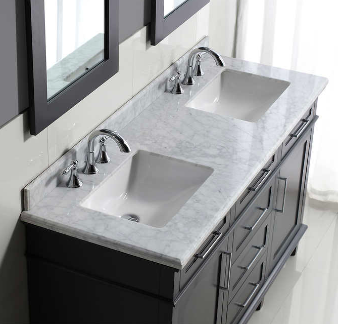 bathroom with granite cabinet