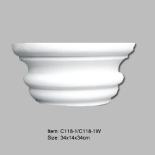 OEM/ODM for Best Polyurethane Columns,Decorative Columns,half Columns,Architectural Columns,Fluted Columns,Smooth Columns Manufacturer in China Polyurethane Full Fluted Column supply to Italy Importers