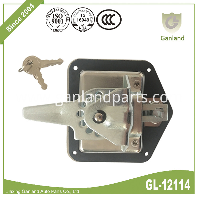 Flush Mount Folding T-Handle Latch GL-12114