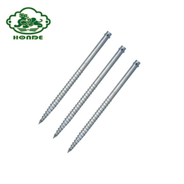 CE Certificate Helical Piles Screw Pile For Garden