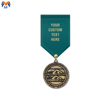Custom metal bronze award medals shop