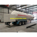 60cbm LPG Gas Filling Trailers