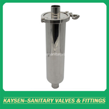 3A sanitary Welded  straight strainer/filter
