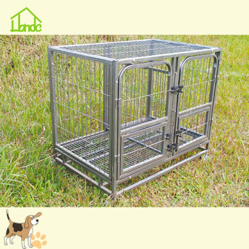 Heavy duty welded pet cage crate