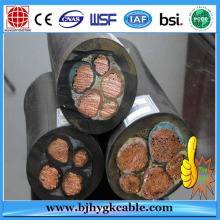 0.6 / 1KV Pure Copper Wire Black Sheath HOFR Rubber