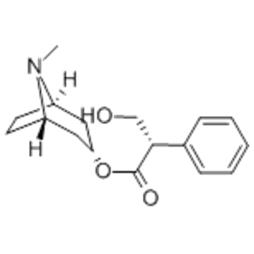 Benzeneacetic acid, a-(hydroxymethyl)-,( 57357016, 57263287,3-endo)-8-methyl-8-azabicyclo[3.2.1]oct-3-yl ester,( 57357017, 57263288,aS)- CAS 101-31-5