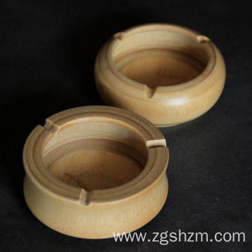 Bamboo ashtray for environmental protection