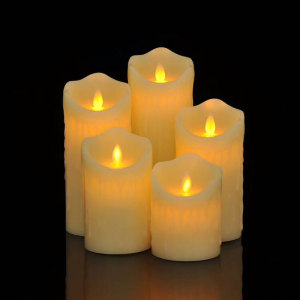 Remote Control LED candle battery operated religious candles