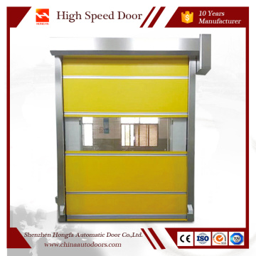 PVC high speed door fast shutter door