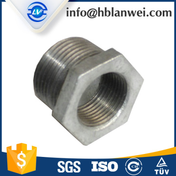 Good Quality for Galvanized Pipe Fitting Bushing Malleable iron pipe fittings supply to Indonesia Factories