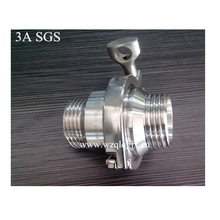 Sanitary Stainless Steel Male Threaded Check Valve