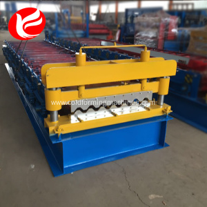 Rolling forming roofing used metal panel making machine