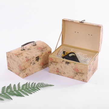 high quality cardboard suitcase box