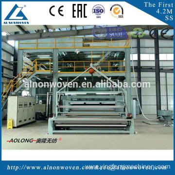 2016 New Design AL-2400 S Nonwoven Fabric Machine with Reasonable Price