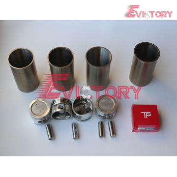 excavator H25 engine gasket bearing piston ring liner