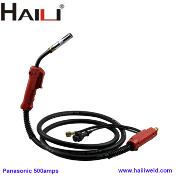 HAILI 500A co2 welding torch panasonic