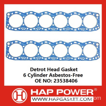 New Delivery for for China Head Gasket,Metal Head Gasket,Cylinder Head Gasket,Engine Head Gasket,Tractor Head Gasket Manufacturer Detrot S60 Head Gasket 23538406 supply to American Samoa Supplier
