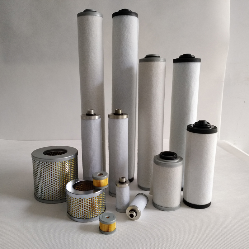 vacuum pump filter element