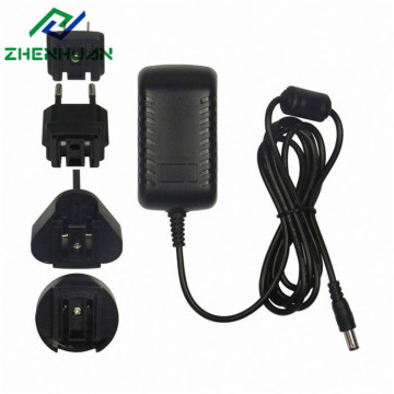 24W 24V1A Ada Ada Power Power Multiple with EU / US / UK / AU Plug