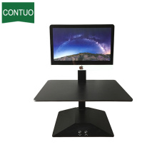 China for Electric Scissor Lift Table Standing Desktop Computer Workstation Lap Desk Converter supply to Cayman Islands Factory