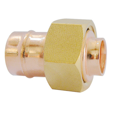 Copper Solder ring Straight Tap Connector