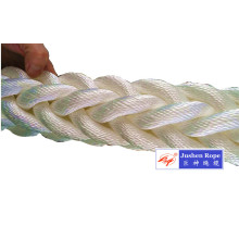 Top Suppliers for Polyester Double Braided Rope Top Grade Polyester Braided 8-Strand Mooring Rope supply to Bhutan Exporter