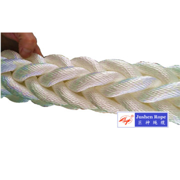 Top Grade Polyester Braided 8-Strand Mooring Rope