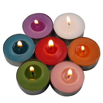 scented colored tea light candle of multi size