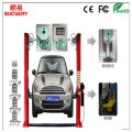 5D Wheel Alignment for Two-post Car Lift