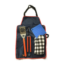 apron bbq accessory outdoor cooking tools set