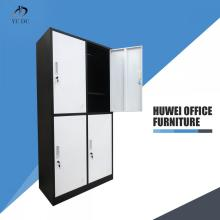 Durable four door metal school gym locker