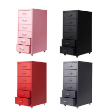 Cheap for Mobile Pedestal Drawer 6 drawer 10 drawer steel filing cabinet supply to Spain Suppliers