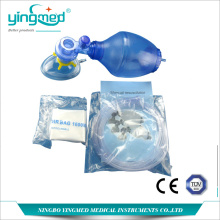 China Factories for Respirator Mask With Air-Cushion Disposable PVC Resuscitator Bag Set supply to New Caledonia Manufacturers