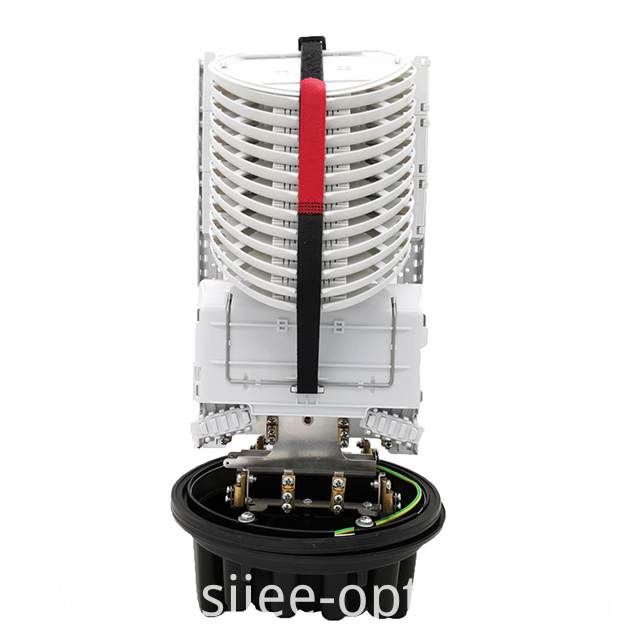Vertical Fiber Optic Splice Closure