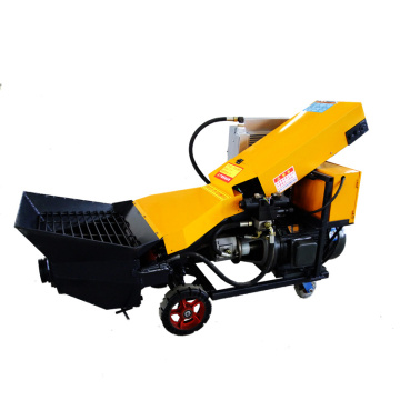 Electric Fine Stone Mortar Concrete Pump