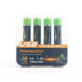 AA Rechargeable Batteries High Capacity