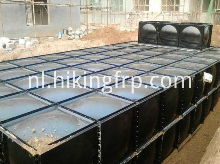 Underground Installation of BDF Water Tanks