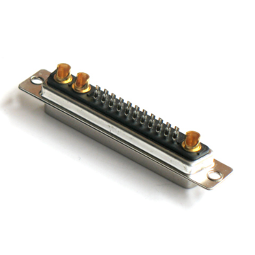 Standard Power D-SUB 25W3 40A Straight Solder Male