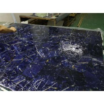 Translucent or No Translucent blue sodalite slab