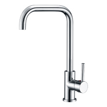 Chill and hot faucet in kitchen washbasin