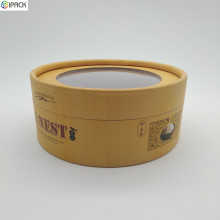 Cardboard Food Paper Tube Packaging Box with Lids