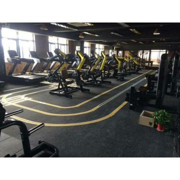 Gym  Reduction Rubber Flooring