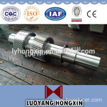 CNC machining forging intermediate long steel shaft