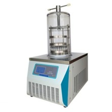 Benchtop top-press laboratory vacuum freeze dryer
