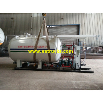 10000l 2 Pumps LPG Bottle Filling Stations