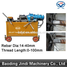 Factory making for Electric Rebar Thread Rolling Machine JBG-40T Rebar Threading Machine supply to United States Manufacturer