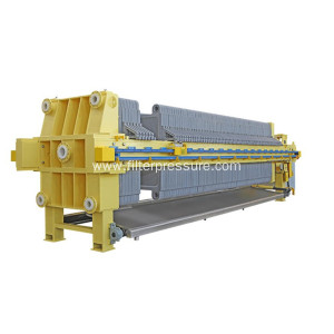 Hydraulic Driven Pottery Clay Plate Frame Filter Press